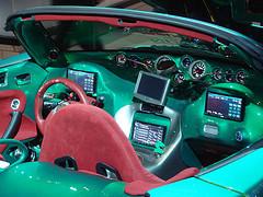 Tuned Pontiac console